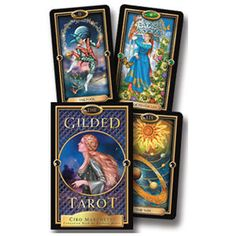 The Guilded Tarot Kit  Ciro Marchetti is an amazing artist!