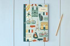 A Little Paris Day Planner, Notebook, or Address B... | Minted