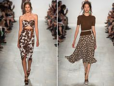 The Michael Kors dress on the left is perfect. Need. Now.