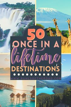 Official Bucket List Places to Visit & How to Make a Travel Bucket List | Travel Destinations  #anncavittfisher #travel #travelblogger #TravelBlogs #Destinations