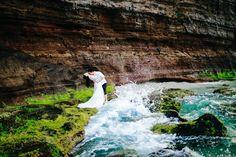 Ảnh cưới lãng mạn tại đảo Lý Sơn của cặp đôi 9X