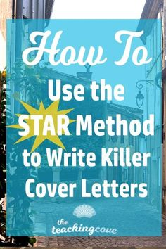 Are you writing a cover letter? Need tips for teaching writing and helping your English students write cover letters? Check out my favourite method (STAR) and how to use it. Teaching Cover Letter, Writing A Cover Letter, Cover Letter For Resume, Cover Letter Template, Teaching Writing, Teaching Tips, Best Cover Letter, Cover Letter Tips, Cover Letter Example