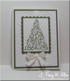 WT353 Snow Swirled by pawallen142 - Cards and Paper Crafts at Splitcoaststampers