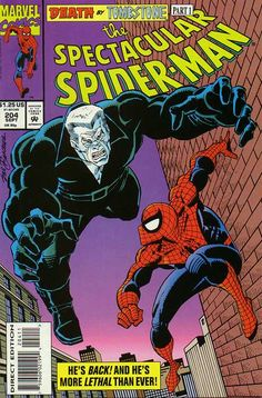 Peter Parker, The Spectacular Spider-Man # 204 by Sal Buscema