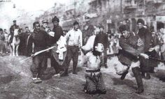 during World War II in China.   Most probably the Nanking massacre.