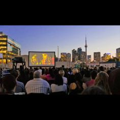 Open Roof Film Festival, Toronto You don't have to travel far and wide to watch movies in odd places. During the summer in Toronto, films are shown on a rooftop by Lake Ontario.