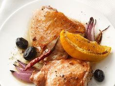 Spicy Sicilian Chicken from #FNMag #myplate #protein #veggies