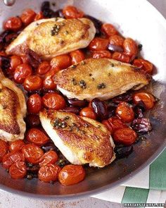Mediterranean Chicken Holiday Dinner Recipe