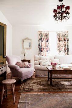 The Prairie By Rachel Ashwell - Shabby Chic living room - Photography by: Amy Neunsinger