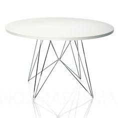 La table à manger Tavolo XZ3 par Andries & Hiroko Van Onck