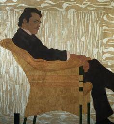 Portrait of Hans Massmann 1909 - Egon Schiele