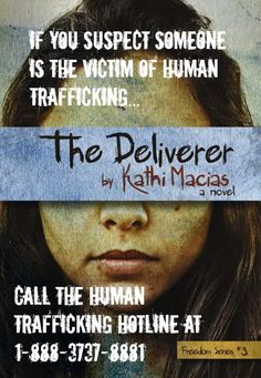 Spread the word about where to get help if you suspect someone is the victim of human trafficking.
