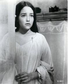 """Olivia Hussey, """"Romeo and Juliet"""", 1968."""