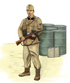 ww2 1942 Lance corporal Afrika korps, North Africa by AndreaSilva60 on DeviantArt