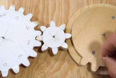 Counting gear train.