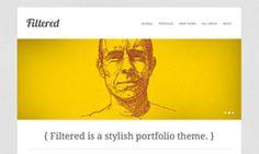 Filtered Portfolio theme