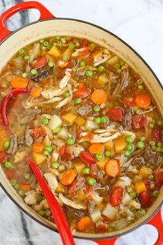 Booyah {a soup tradi