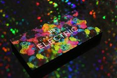 Urban Decay Electric Pressed Pigment Palette (I'm getting more and more excited about this!)