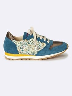 GIRL'S LEATHER / LIBERTY® TRAINERS