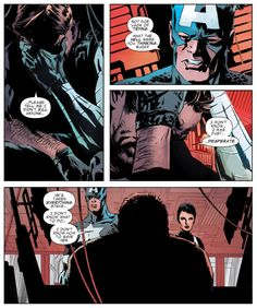 Winter Soldier vol. 1 #13 by Ed Brubaker, art by Butch Guice