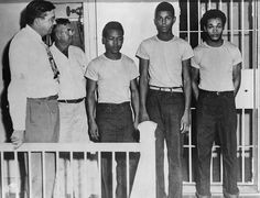 Three of the surviving Groveland Four, were arrested for sexually assaulting a white woman in 1949. Their arrests, coerced confessions, and trials set off a sequence of Ku Klux Klan violence, killing two of the suspects and one of their lawyers. 1949.