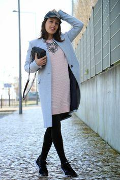I love Fita Métrica: Pink Knit Dress