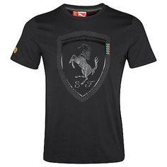 Scuderia Ferrari 2012 Logo T-Shirt Black Scuderia Ferrari 2012 Logo T-Shirt Black Shirt Print Design, Shirt Designs, Black Polo T Shirt, Mens Designer Shirts, Mens Boots Fashion, Polo T Shirts, Logo Nasa, My T Shirt, Mens Tees