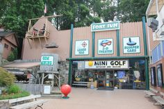 Fort Fun in Downtown Gatlinburg. #Gatlinburg #Tennessee #vacation #attractions #whattodo #events #family #fun