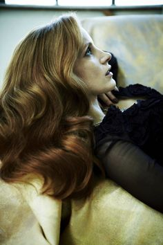 My choice for Alexandra's character would be Jessica Chastain! Beautiful and very talented!