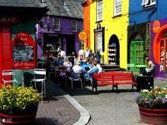 Радужный Кинсейл - небольшой городок в Ирландии, в графстве Корк. - Путешествуем вместе