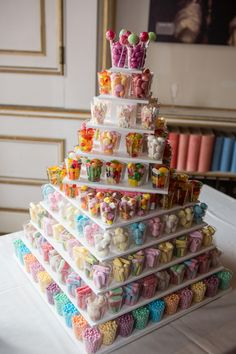 Sweetie wedding cake