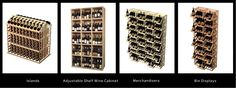 How To Showcase Your Wine Merchandise - these racks and displays enable you to display your bottle labels in a more prominent fashion.