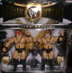 Jakks WWE Classic Superstars Demolition AX & Smash 2 Pack for sale online Wwe Toys, Wwe Action Figures, Modern Toys, Wrestling Superstars, Thing 1, Hulk Hogan, Classic Toys, Pretty Cool, Vintage Toys