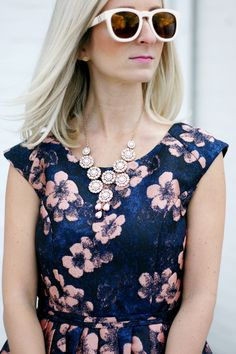 eShakti custom made floral dress