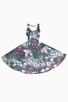 Take My Monet Evil Longline Dress BM - Limited - Feeding Frenzy - Collections Black Milk Clothing, Princess Seam, Long A Line, Take My, Monet, Skater Dress, Cheerleading, Nice Dresses, Casual Shorts