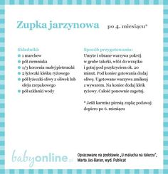 Przepisy dla niemowlaka - Zupki dla niemowlaka | Strona 3 | Baby online Baby Eating, Baby Time, Vogue Kids, Kids And Parenting, Baby Food Recipes, Kids Meals, Baby Room, Pregnancy, Food And Drink