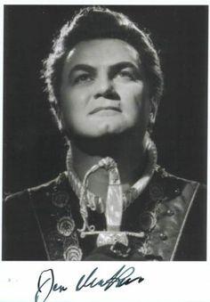 Jon Vickers 1926 - 2015. 88; opera singer, tenor.