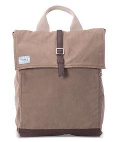 Look at this #zulilyfind! Olive Waxed Canvas Backpack #zulilyfinds