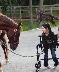 Hippotherapy is more than just a therapy session while riding a horse
