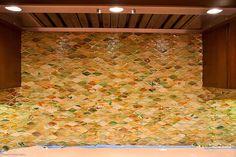Hirsche Glass Tile Backsplash