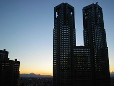 Tokyo Metropolitan Government Office (Tocho) - 45th Floor observation deck.