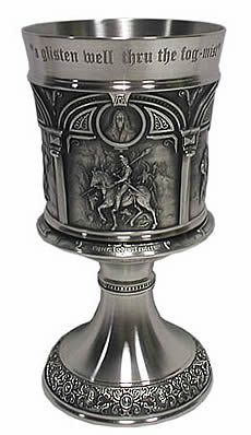 The Highwayman:  #The #Highwayman ~ Pewter Goblet.