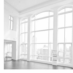 Wouldn't mind this view! #architecture #view #white #inspiration #window #city