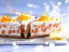 Cheese-cake au saumon