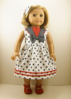 Fits American Girl Doll  Other 18 Inch Dolls  by dressurdolly2, $22.00