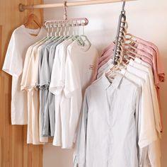 Dorm Room Designs, Closet Designs, Bedroom Closet Design, Room Ideas Bedroom, Walk In Wardrobe, Walk In Closet, Wardrobe Rack, Wardrobe Storage, Small Space Organization