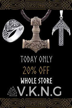 Viking Jewelry and Handcrafted Norse Jewelry ? Shop our genuine viking bracelets, necklaces, rings. Over 8143 Satisfied Vikings customer. Pagan Jewelry, Viking Jewelry, Silverware Jewelry, Jewelry Bracelets, Jewlery, Viking Facts, Norse Clothing, Indian Skull, Norse Pagan