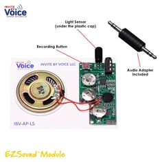 Fine Usb Download Recording Diy Music Mp3 Chip Module Festival Gift Box Birthday Card Movement Home Appliance Parts