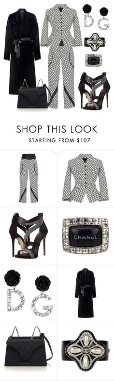 """Untitled #3443"" by deirdre35 ❤ liked on Polyvore featuring Chanel, Dolce&Gabbana and Nili Lotan"