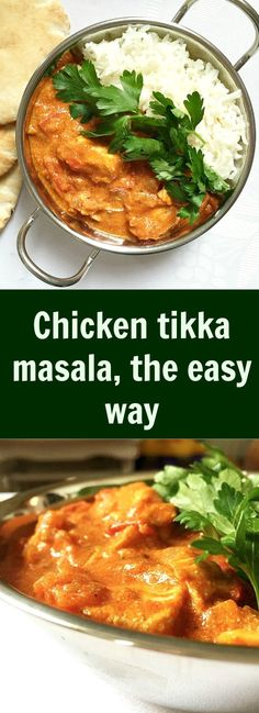 Chicken tikka masala, the easy way. A flavourful, comforting and so delicious…